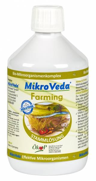 MIKROVEDA® FARMING - STAMMLÖSUNG - EFFEKTIVE MIKROORGANISMEN