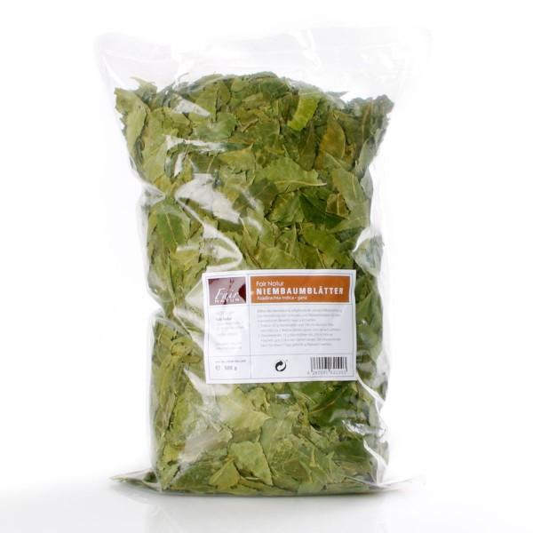 (Niem) Neembaum Blätter ganz 500 g